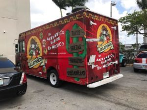 Food Truck Wraps in Miami