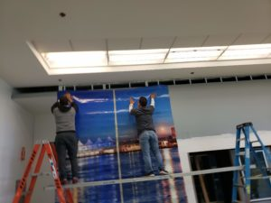 Miami Airport Wall Graphics