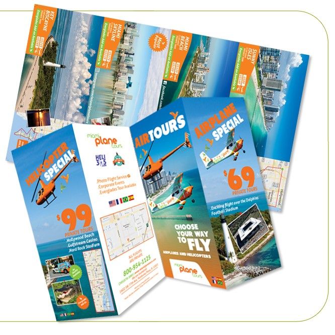 Multiple Size Brochures and Catalogs Print & Design