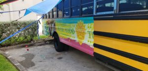 Bus wrap vehicle wrap