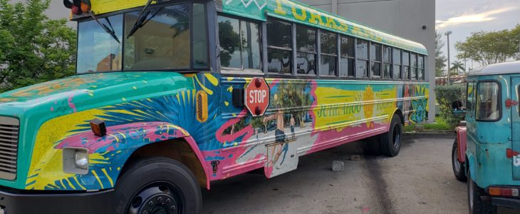 Custom Bus Wrap Miami