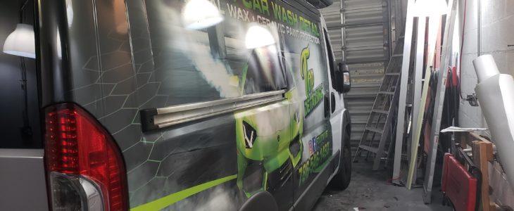 Dodge promaster graphics Miami
