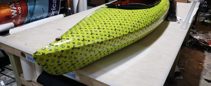custom canoe wrap