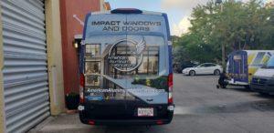 Vehicle wrap ford Transit