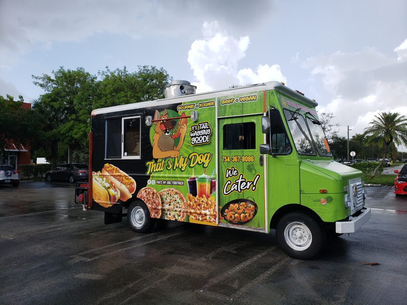 miami Food truck wrap